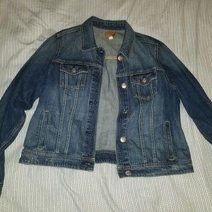 NEVER WORN American eagle medium denim jacket